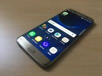 Samsung Galaxy S7 Edge cracked screen unlocked boxed
