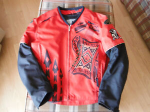 Red Motorcycle Riding Jacket / Coat