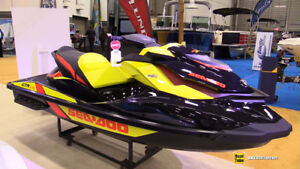 2015 Sea Doo GTR 215 with Move I trailer and accessories