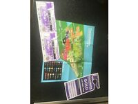 2 x creamfields 2 day gold camping tickets