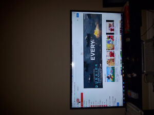 """NEW! SUPER clear & thin 40 """" NATIVE 1080p SHD tv with remote!"""
