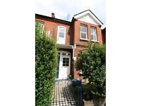Lovely 3 double bedroom first floor flat , private garden, 4 min walk to Wimbledon Chase stn, shops