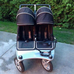 Valco Twin Tri Mode Duo EX Double Stroller