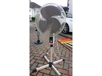 Freestanding electric fan