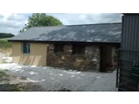 Detached 1 bed renovated barn in rural setting