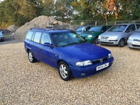 1997 Vauxhall Astra 1.6 5 Months MOT Service History Estate 1 Former Keeper Cheap Car