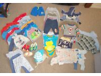 bundle of clothes for baby boy 3-6 months