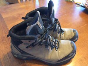 Hiking Boots Mens Size 12 Salomon