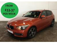 FROM £229.50 PER MONTH STUNNING 2014 BMW 118 2.0TD SPORT- MANUAL DIESEL