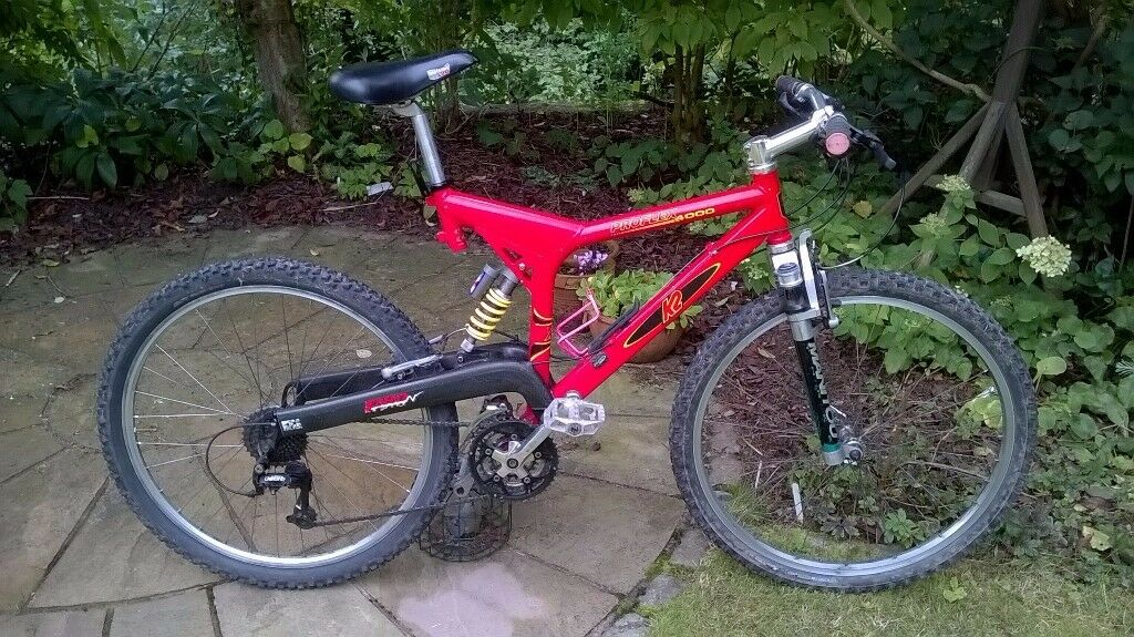 K2 Proflex 4000 Full Suspension Mountain Bike In Mold Flintshire