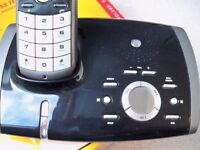 Motorola digital handset, answering machine.