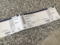 2 x Kasabian tickets for Berlin