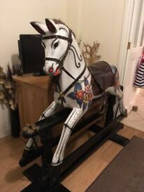 **Beautiful Wooden ROCKING HORSE**