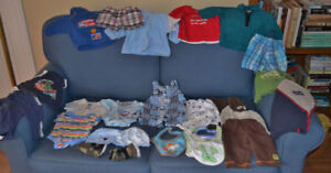 Assorted 0 - 3 month baby clothing