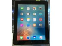 Mint condition Apple iPad 4 64GB Wi-Fi in black 9.7""