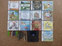 Nintendo DS Lite Black & Games Bundle