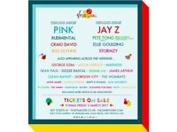 2 X V Festival tickets (Weston Park) Weekend Camping £250 ono
