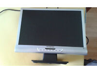 "Swisstec 19"" multi function monitor, excellent condition"