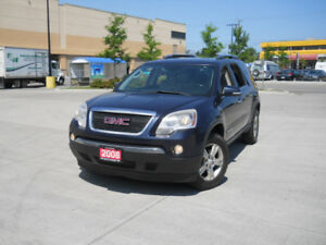 2008 GMC Acadia, 7 passanger, Leather , 3/Y warranty availabl