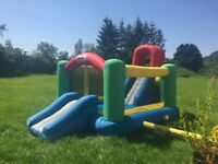 Little Tykes Double Jump and Slide Bouncy Castle