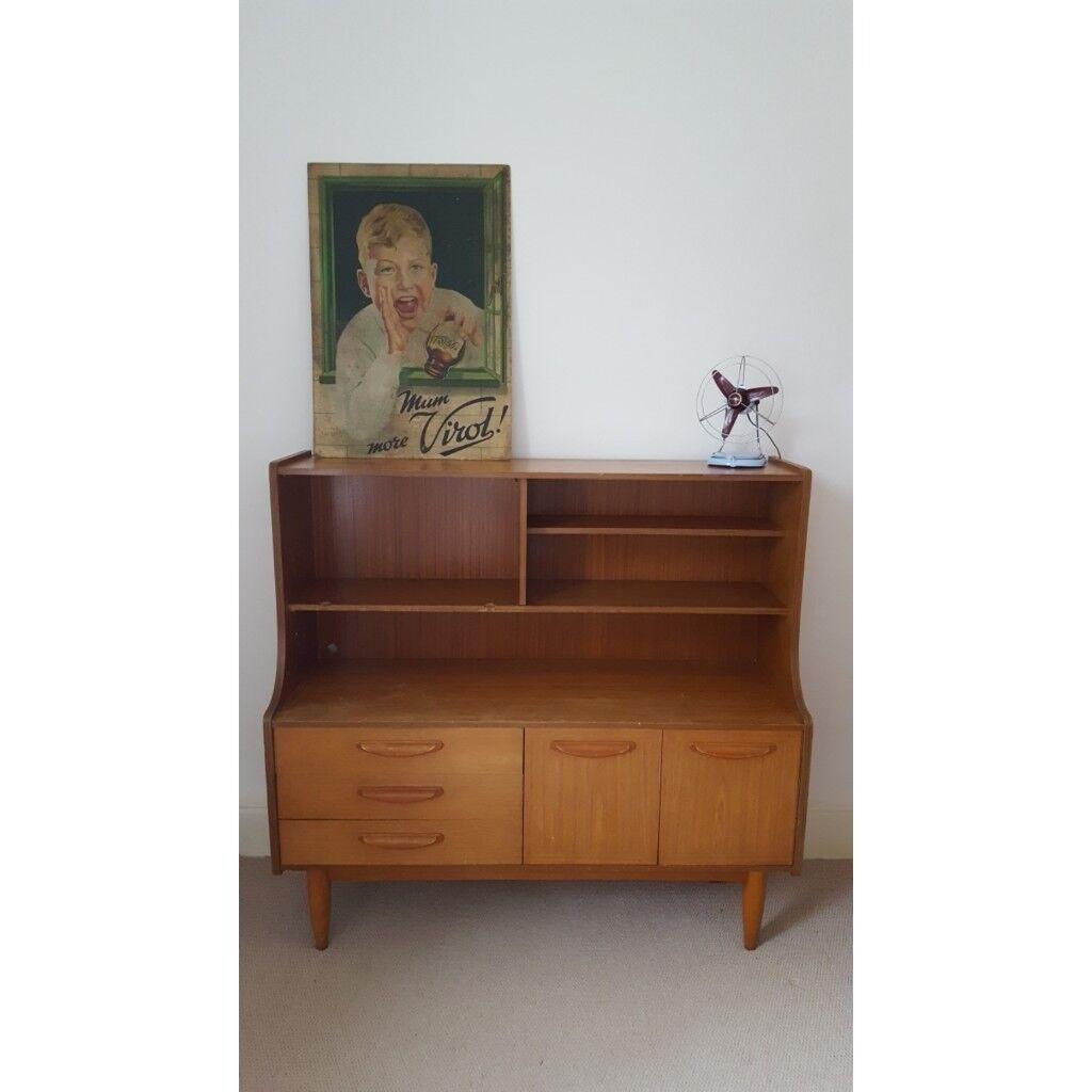 Vintage G Plan Dresser Sideboard Cabinet