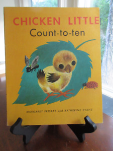 Great Vintage Copy - Chicken Little Count-to-ten