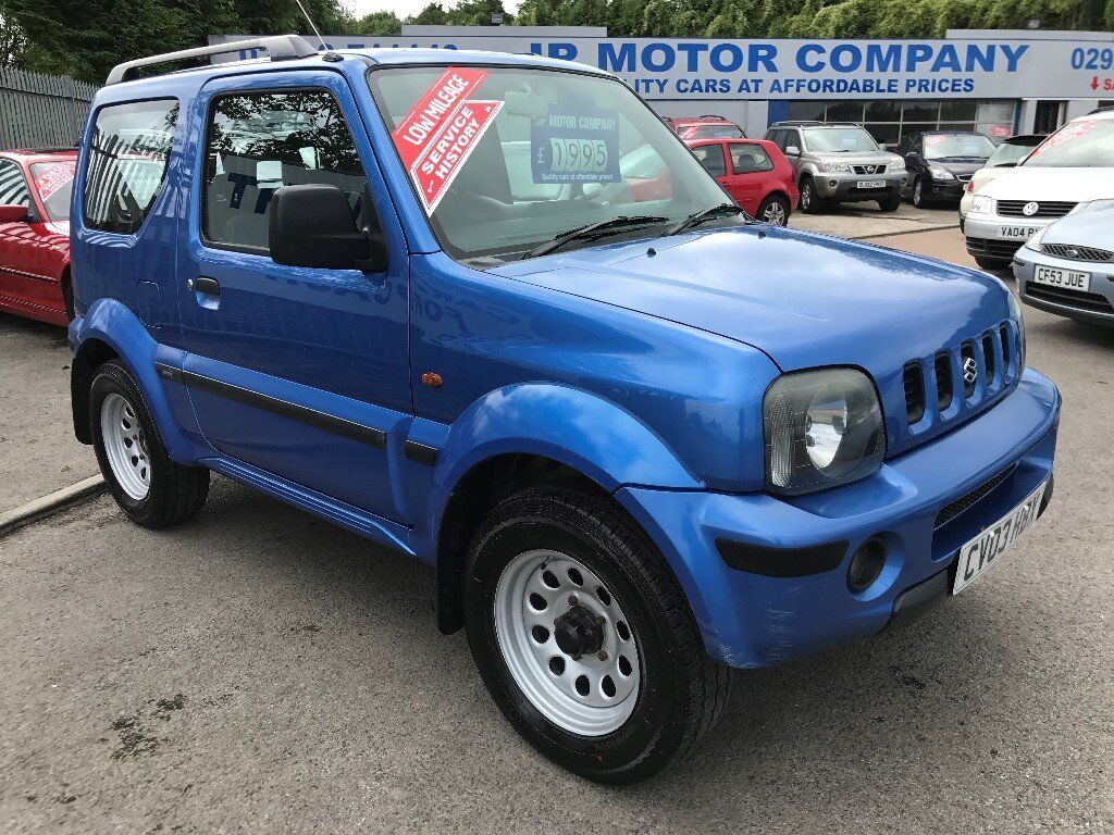 2003 suzuki jimny hard top blue new mot 4 four wheel. Black Bedroom Furniture Sets. Home Design Ideas