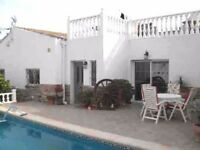 Semi detached bungalow in Spain, close to the Mediterranean with miles of sandy beaches