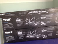 Thule Roof bars (to fit BMW 3 series) & 2 cycle carriers