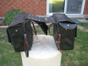 Willi and Maz Leather Saddlebags