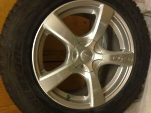Winter Tires+Mags for sale 235/65/R18