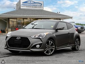 2016 Hyundai Veloster TURBO LEATHER PANORAMIC ROOF FAST...