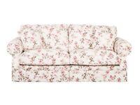 Designer Fabric White Kensington Buoyant Sofa £569