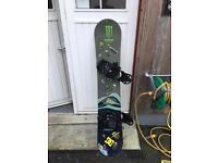 Air walk snow board