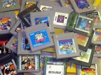 Looking for game boy games of any sort will buy cash
