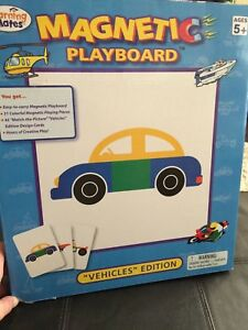 Magnetic play board