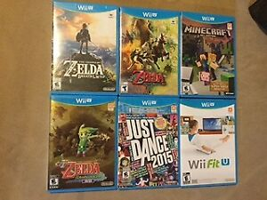 Wii U for Sale with Tons of Accessories and Games, Like New