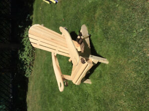 Folding adirondack chair, new