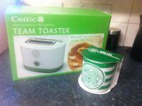 Celtic football club toaster&mug