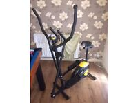 EVERLAST 2 in 1 cross trainer and exercise bike.