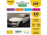 SKODA SUPERB 1.6 TDI SE BUSINESS 2.0 SE L EXECUTIVE FROM £98 PER WEEK!