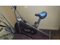 Used V-Fit exercise bike with digital readout