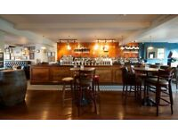 Wonderful waiting staff needed for our fantastic riverside pub £7.20-£9.50 per hour