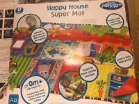 Vey new play mat large size easy clean