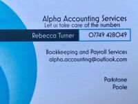 Bookkeeping and Payroll Services - Friendly and Professional.