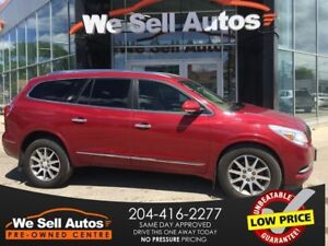 2014 Buick Enclave AWD *HTD SEATS *LTHR *CAM *SAT RADIO