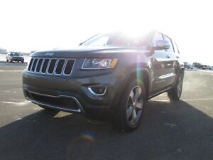 2016 Jeep Grand Cherokee Limited 4X4. Leather heated seats, Hea