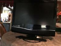 "19"" bush tv with built in DVD player and freeview"