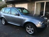 BMW X3 diesel sport 120.000miles. Service history. 55 plate Unwanted present.