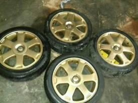 """audi s4 a4 17"""" alloy wheels 5x112"""
